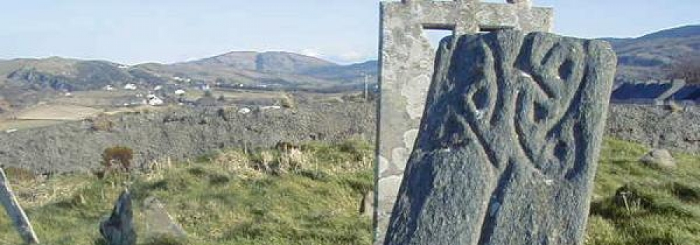 Early Christian Cross, Glencolmcille, Donegal