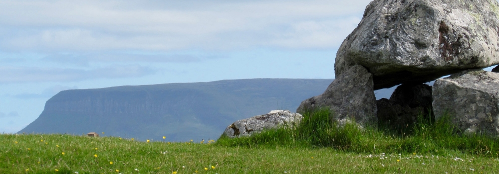 Ben Bulben from Carrowmore Neolithic Cemetery